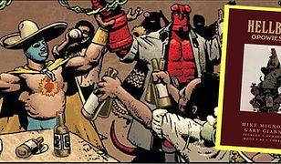 """""""Hellboy. Opowieści"""" ukazał się w lutym 2020 r. nakładem wydawnictwa Egmont"""
