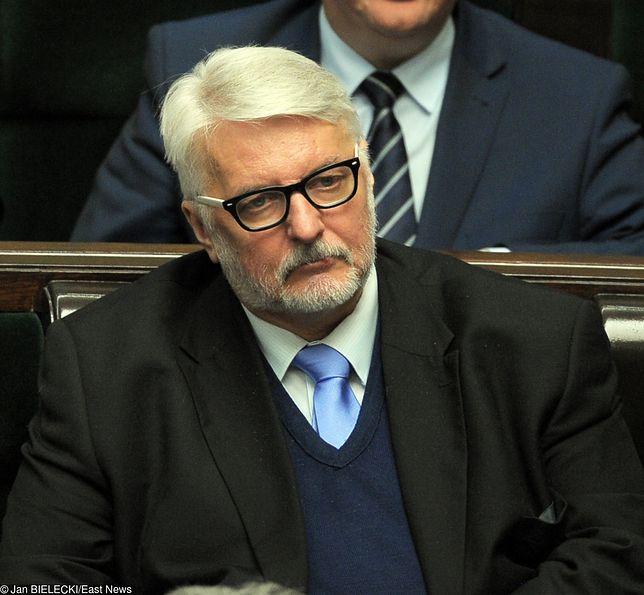 Witold Waszczykowski zaznaczył, że Georgette Mosbacher nie jest doświadczonym dyplomatą