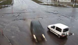 #dziejesiewmoto: sprawca wypadku wychodzi bez szwanku