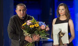 Marcin Wicha odbiera Nagrodę Nike 2018