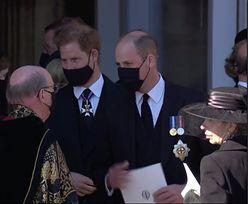 Pierwszy raz od ponad roku. William i Harry obok siebie na pogrzebie Filipa