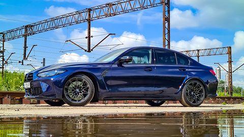 Test BMW M3 Competition: Rodzinne auto z piekła rodem i toną elektroniki