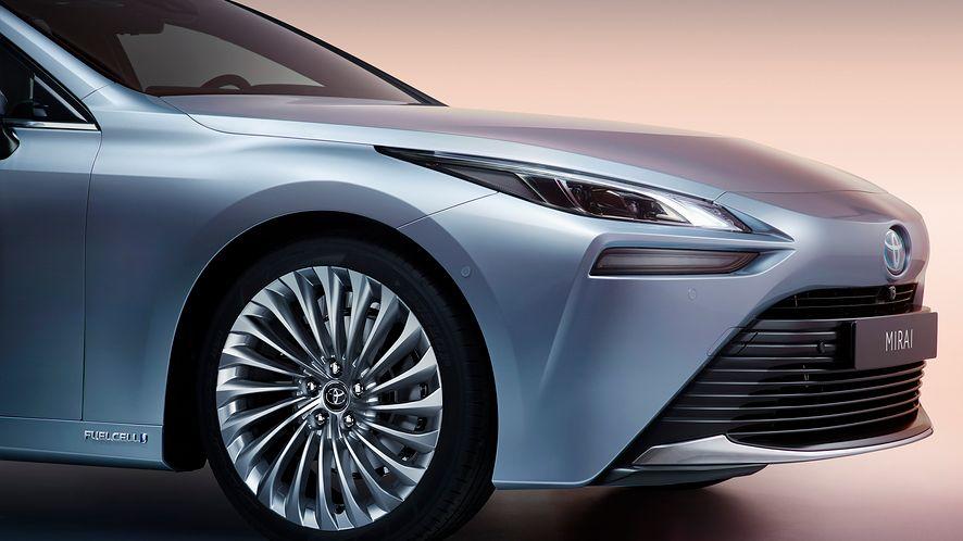 Toyota Mirai trafi do Polski, fot. materiały prasowe Toyota