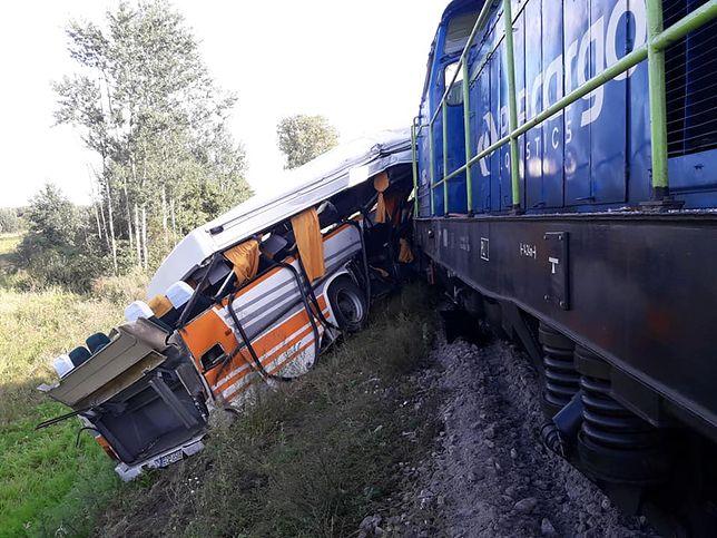 Wypadek w Łódzkiem