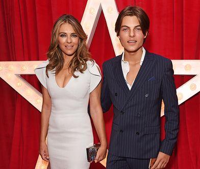 Liz Hurley często występuje publicznie z synem Damianem