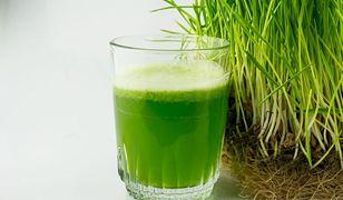 Warto spróbować: sok z trawy pszenicznej