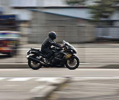 Śląskie. Zwróć uwagę na motocyklistów