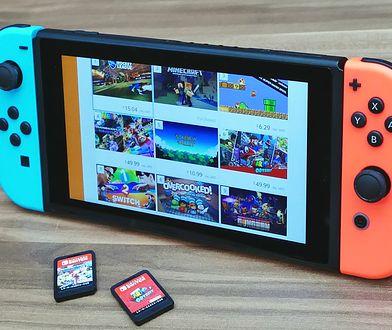 Przy 32 GB pamięci wbudowanej Nintendo Switch karta pamięci szybko staje się niezbędna