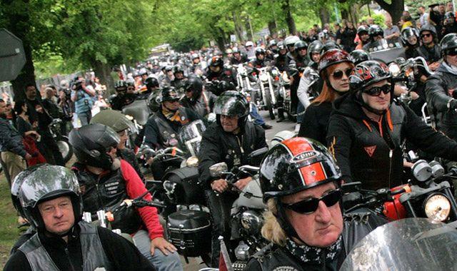 Zlot Harleya-Davidsona w Rzymie z okazji jubileuszu