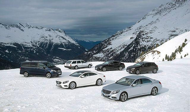 Poznaj tajniki działania napędu na cztery koła od Mercedesa