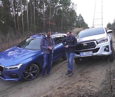 Toyota Hilux Dakar kontra Volvo XC60 B5 - pickupem na co dzień czy SUV-em w teren?