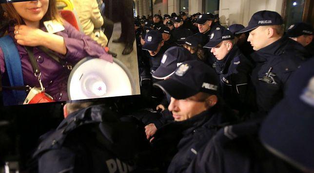 Oprowadzała turystów po Warszawie. Policja upomniała ją, że zakłóca miesięcznicę smoleńską