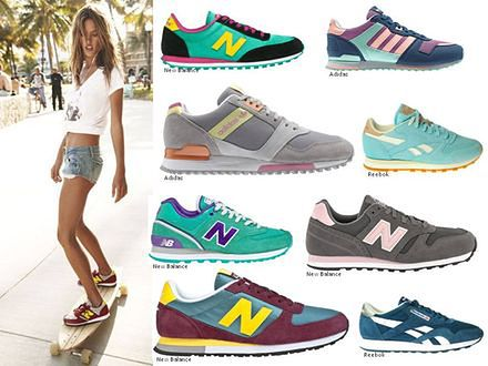 Moda na sportowe obuwie