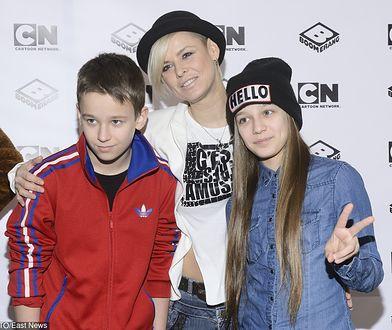 Mandaryna jest dumną mamą Xaviera i Fabienne