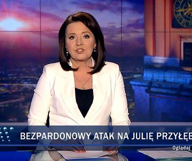 """W materiale """"Wiadomości"""" stwierdzono, że Przyłębska była """"nagabywana"""""""