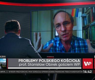 """Prof. Obirek o """"Gomorze"""": Piszemy o tym, czym żyje dzisiaj każdy Polak"""