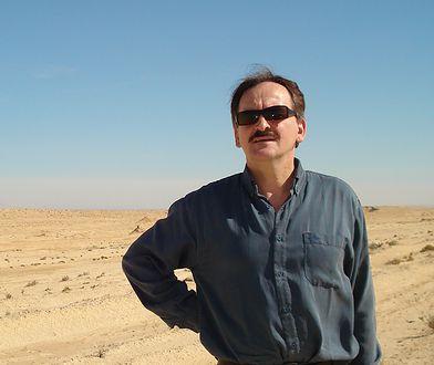 Zdzisław Raczyński na pustyni