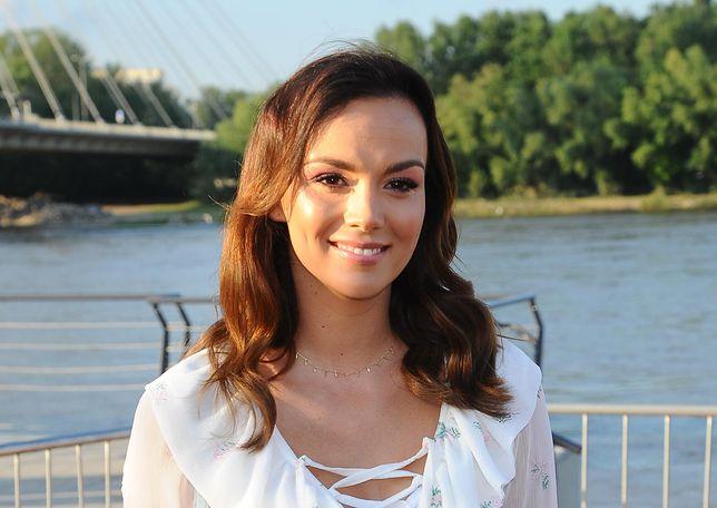Paulina Krupińska na jednej z imprez branżowych
