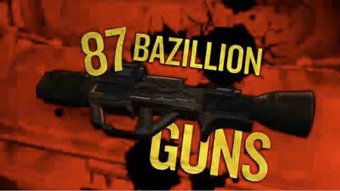 Reklama Borderlands stawia sprawę jasno - w grze jest 87 bazylionów spluw