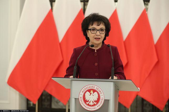 Sejm. Marszałek Elżbieta Witek skierowała wniosek do Trybunału Konstytucyjnego