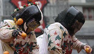 123 osoby poszkodowane w bitwie na pomarańcze we Włoszech