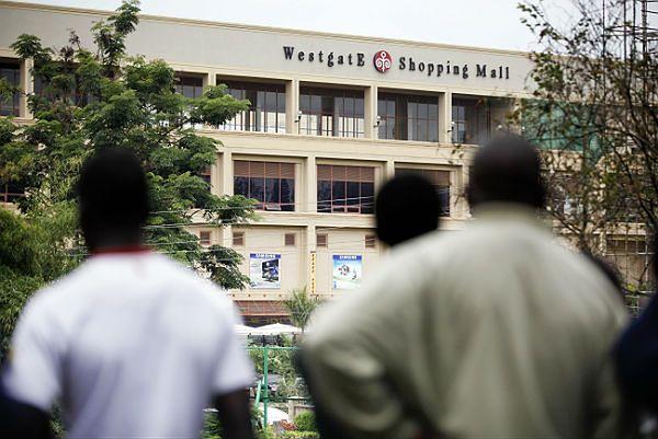 Centrum handlowe w Nairobi