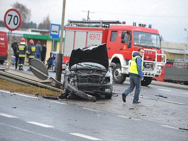 Tragiczny wypadek, kobieta nie żyje - zdjęcia