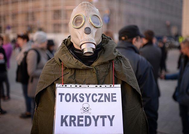 """Demonstracja przeciw """"bankowemu bezprawiu"""""""