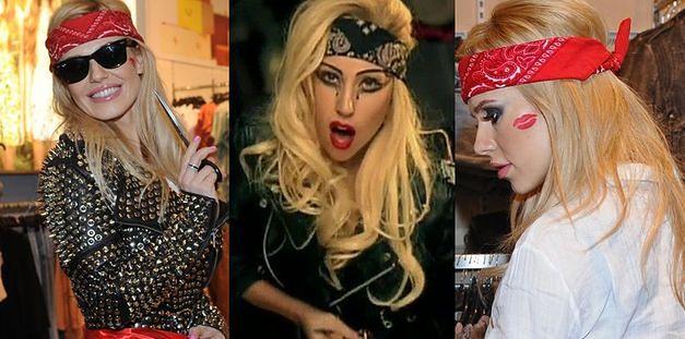 Lady Gaga w stylizacji... na Dodę?