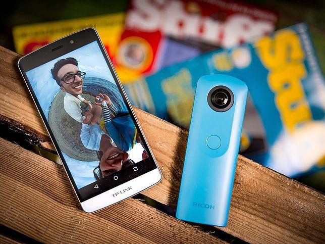 Czy warto kupić kamerkę 360? Sprawdzamy tańszą wersję urządzenia Ricoh