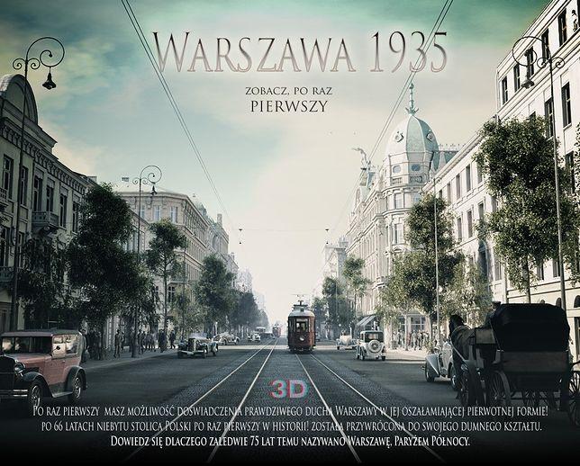 Warszawa 1935. Niesamowity film w 3D