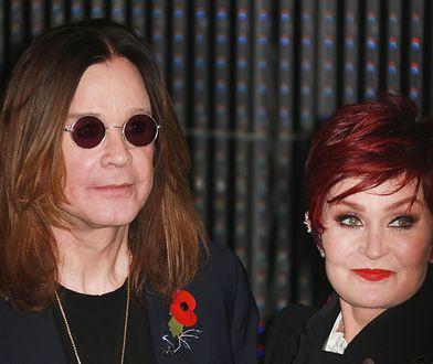 Ozzy Osbourne ze swoją żoną Sharon
