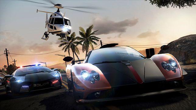 Gry wyścigowe - kadr z gry Need for Speed