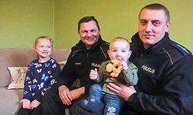 Uratowali niemowlę, którego główka zaklinowała się w huśtawce