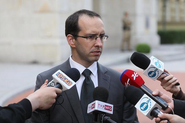 Stanisław Żaryn powiedział, że mężczyzna nie przyznał się do zarzutów