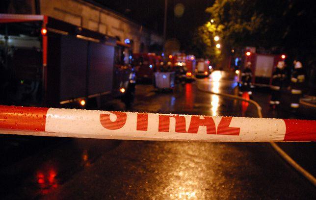 Tragiczny pożar w Warszawie. Zginął niepełnosprawny