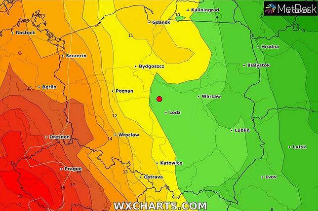 Pogoda. Niedziela z upałem i popołudniowymi burzami na południowym zachodzie Polski