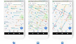 Google Maps w nowej odsłonie