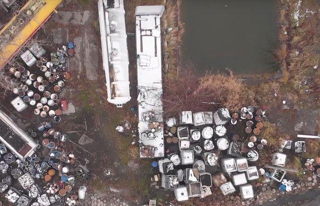 Śląskie. Do końca roku zostanie usuniętych ponad 360 ton niebezpiecznych odpadów porzuconych w Bytomiu Łagiewnikach.