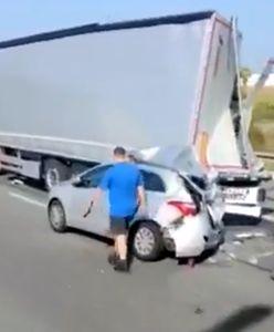 Wielkopolskie. Tragiczny wypadek na A2. 37-latek nie żyje