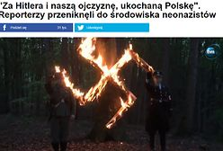 """Kulisy reportażu o neonazistach. Kittel: """"Mogło stać się coś złego"""""""