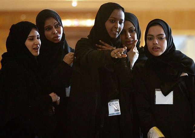 Kobiety z Arabii Saudyjskiej z prawem głosu