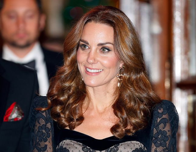 Kate Middleton w zielonej kreacji