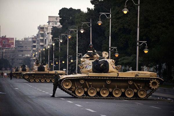 Czołgi egipskiej armii