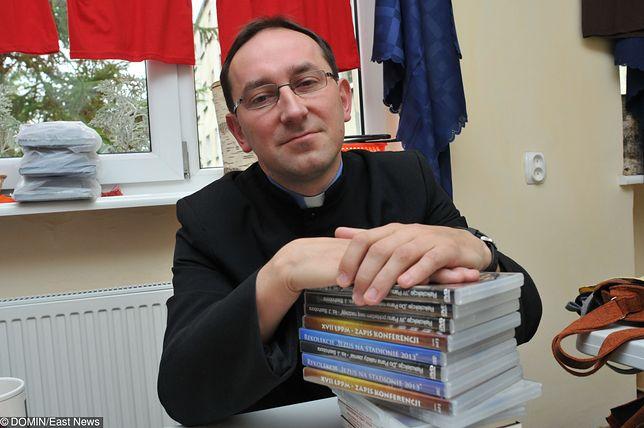 Ks. Rafał Jarosiewicz, członek zarządu Fundacji SMS z Nieba