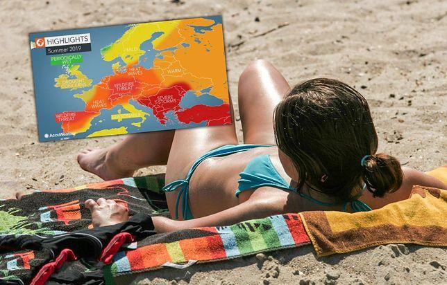 Pogoda na wakacje: upał i silne burze