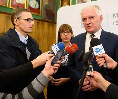 Jarosław Gowin w obronie wolności słowa. Zajmie się sprawą zwolnionego z SUM wykładowcy.