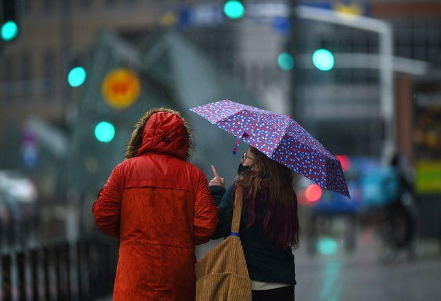 Warszawa. W czwartek prognozowane są opady deszczu