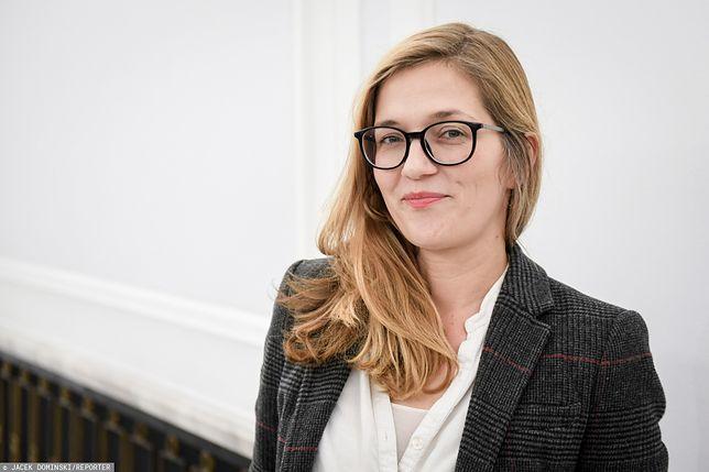 Posłanka partii Razem Magdalena Biejat