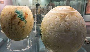 Niezwykłe zdobione jaja strusia mogą mieć nawet 5000 lat